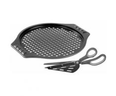 STONELINE Pizzablech (Set 2-tlg), schwarz, schwarz