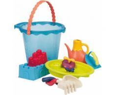 Btoys Sandspielzeug mit Gießkanne Sandspielzeug Large Bucket Set Sea, blau, Kinder, blau