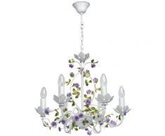 MW-LIGHT Kronleuchter Provence, E14, 1 St., Neutralweiß, Hängeleuchte, Pendellampe, Pendelleuchte weiß Deckenleuchten SOFORT LIEFERBARE Lampen Leuchten