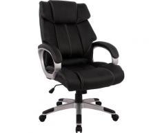 Chefsessel schwarz Sessel Wohnzimmer