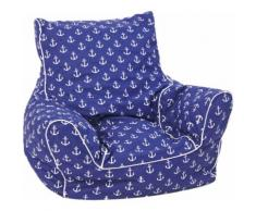 Knorrtoys Sitzsack Maritim Blue, blau, maritim blue