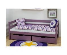 Hoppekids Einzelbett IDA-MARIE (Set) rosa Kinder Kindermöbel Nachhaltige Möbel Betten