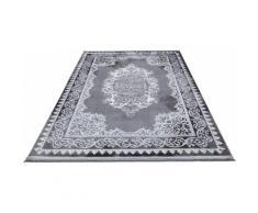 Festival Teppich Astana, rechteckig, 11 mm Höhe, Hoch-Tief-Struktur, Orient Optik, Wohnzimmer grau Esszimmerteppiche Teppiche nach Räumen