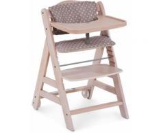 Hauck Hochstuhl Beta+ White-Washed beige Baby Mitwachsende Hochstühle Babymöbel Stühle