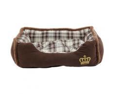 HEIM Tierbett Krone braun Hundebetten -decken Hund Tierbedarf