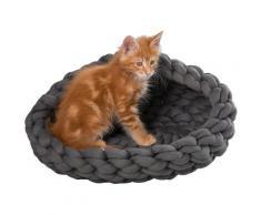 ABUKI Tierkorb Smilla, versch. Größen grau Katzenkörbe -kissen Katze Tierbedarf