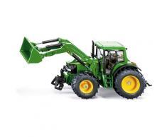 Siku Spielzeug-Traktor SIKU Farmer, John Deere mit Frontlader grün Kinder Ab 3-5 Jahren Altersempfehlung