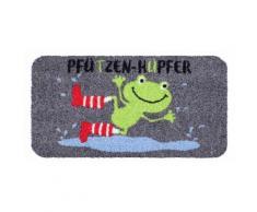 Fußmatte Pfützenhüpfer, waschbar bunt Designer Fußmatten