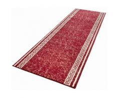 HANSE Home Läufer Casa, rechteckig, 9 mm Höhe, Kurzflor, ringsum gekettelt rot Teppichläufer Teppiche und Diele Flur