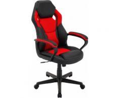 Homexperts Chefsessel Manta schwarz Gamingstühle Bürostühle Stühle Sitzbänke