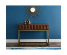 Leonique Konsolentisch Alais braun Konsolentischen Telefontische Garderoben Nachhaltige Möbel Tisch