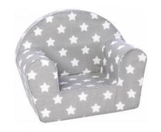 Knorrtoys Sessel Grey White Stars grau Kinder Kindersessel Kindersofas Kindermöbel