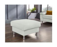 Nova Via Hocker, Hochwertiger Kaltschaum (Belastbarkeit bis 140 kg/Sitz) und wahlweise mit Aqua Clean Stoff für leichte Reinigung Wasser grau Hocker Möbel Aufbauservice