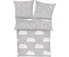 s.Oliver Kinderbettwäsche Rory, gemustert grau Bettwäsche nach Größe Bettwäsche, Bettlaken und Betttücher