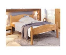 Home affaire Massivholzbett Bolton beige Doppelbetten Betten