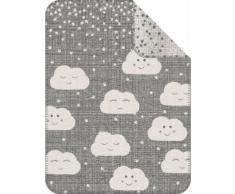 Kinderdecke Clouds sOliver, grau, Unisex, grau