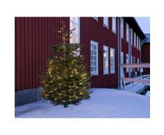 KONSTSMIDE LED-Lichterkette, 180 St.-flammig, Micro LED Lichterkette, mit 8 Funktionen, warm weiße Dioden G (A bis G) schwarz LED-Lichterkette LED-Lampen LED-Leuchten Lampen Leuchten sofort lieferbar