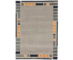 Orientteppich, Nepal Jaipur, carpetfine, rechteckig, Höhe 20 mm, manuell geknüpft grau Schurwollteppiche Naturteppiche Teppiche