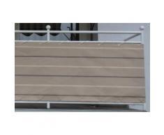 Angerer Freizeitmöbel Balkonsichtschutz, Meterware, beige, H: 75 cm beige Markisen Garten Balkon Balkonsichtschutz