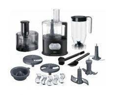 Braun Küchenmaschine FP 5160 schwarz Multifunktionsküchenmaschinen Küchenmaschinen Haushaltsgeräte ohne Kochfunktion