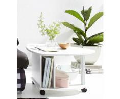 PRO Line Couchtisch weiß Holz-Beistelltische Holztische Tische Tisch