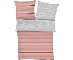 s.Oliver Wendebettwäsche Mako-Satin 5727, mit Streifen grau Bettwäsche nach Größe Bettwäsche, Bettlaken und Betttücher