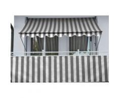 Angerer Freizeitmöbel Balkonsichtschutz, Meterware, anthrazit/grau, H: 90 cm grau Markisen Garten Balkon Balkonsichtschutz