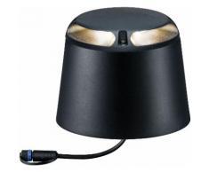 Paulmann LED Sockelleuchte Outdoor Plug & Shine Bodenaufbauleuchte, 2 St., Warmweiß, IP67 grau Außenleuchten SOFORT LIEFERBARE Lampen Leuchten