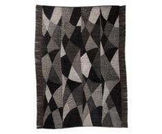 Orientteppich, Chiya Tiama 1, DIE HAUSKUNST, rechteckig, Höhe 4 mm, handgewebt grau Baumwollteppiche Naturteppiche Teppiche