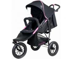knorr-baby Jogger-Kinderwagen, »Joggy S, schwarz-fuchsia«, schwarz, Unisex, schwarz-fuchsia