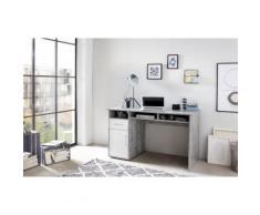 Wilmes Schreibtisch MULTI weiß Schreibtische Bürotische und Büromöbel Tisch