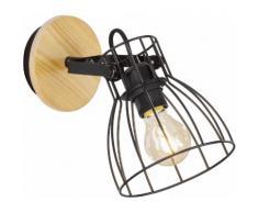 FISCHER & HONSEL Wandstrahler Die, E27, 1 St. schwarz Wandleuchten Lampen Leuchten