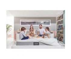 Visco-Matratze Dolce Vita Comfort Dual 10, Magniflex, 25 cm hoch weiß Visco Matratzen Matratze