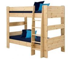 STEENS Etagenbett FOR KIDS, mit Leiter, in verschiedenen Farben beige Kinder Kinderbetten Kindermöbel