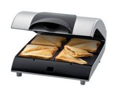 Steba Sandwichmaker SG 40, 1200 Watt silberfarben Küchenkleingeräte Haushaltsgeräte