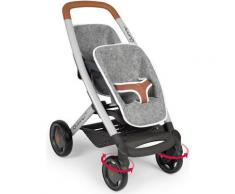 Smoby Puppen-Zwillingsbuggy Quinny, grau, Made in Europe grau Kinder Puppenzubehör Puppen