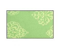 wash & dry Fußmatte, waschbar, grün, Neutral, grün