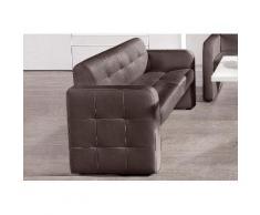 exxpo - sofa fashion 2-Sitzer Barista, mit Rückenlehne braun Sofas Einzelsofas Couches
