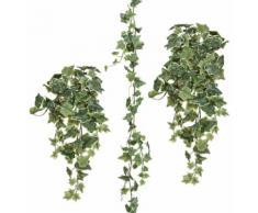 Gasper Kunstpflanze Efeugirlande (Set 3 Stück), grün, grün