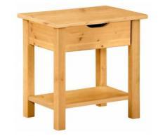 Home affaire Nachttisch Kyoto beige Nachtkonsolen und Nachtkommoden Nachttische Tische Tisch