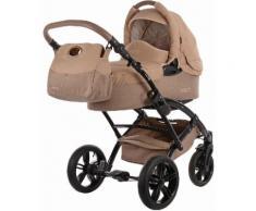 knorr-baby Kombi Kinderwagen Set, »Voletto Happy Colour, sand-beige«, natur, Unisex, sang-beige