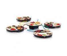 PRINCESS Tischgrill Dinner4All 103080, 1000 W schwarz Grill SOFORT LIEFERBARE Haushaltsgeräte