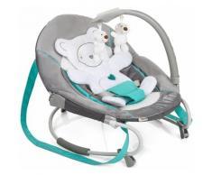 Hauck Babywippe Leisure, Hearts, bis 9 kg grau Baby Ab Geburt Altersempfehlung