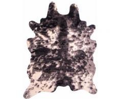 Teppich Kuh-Fell Home affaire rechteckig Höhe 20 mm maschinell gewebt, schwarz, weiß-schwarz