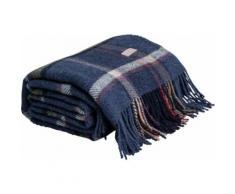 Wolldecke Check, Gant blau Kunstfaserdecken Decken Wohndecken