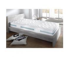 Breckle Komfortschaummatratze Zauber 2500, 25 cm hoch, Raumgewicht: 28 kg/m³, (1 St.), Matratze mit 3D-Massagekontur weiß Allergiker-Matratzen Matratzen