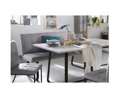 Homexperts Polsterbank grau Polsterbänke Sitzbänke Stühle