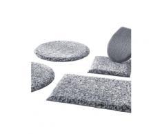 Grund Badeteppich grau Einfarbige Badematten Badgarnituren
