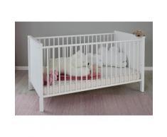 Babybett, Westerland weiß Baby Gitterbetten Babybetten Babymöbel