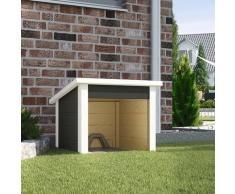 weka Mähroboter-Garage 367 A, anthrazit, 21 mm schwarz Rasenmäher-Roboter Gartengeräte Garten Balkon